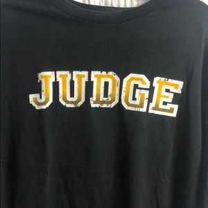 Judge XL shirt. New York Hardcore, SXE, Punk, NYHC